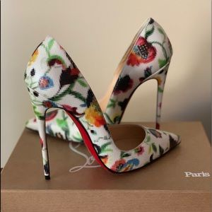 Louboutin So Kate 120 Mosaic Pumps